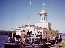 Chapel Boat on the Volga and the Don