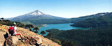 south lake district of Chile